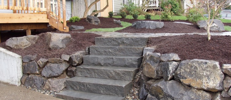 Solid Rock Stairs